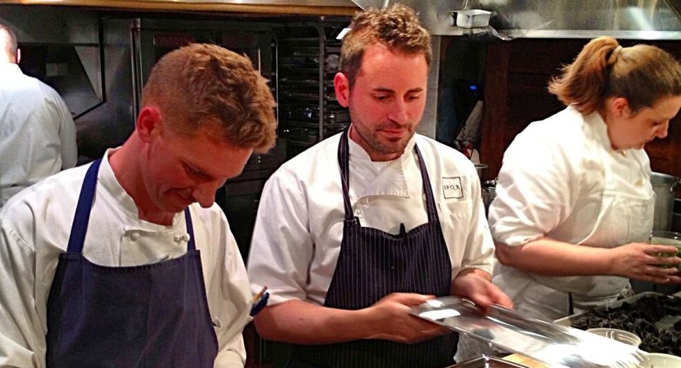 Matthew Accarrino among Food & Wine's Best New Chefs