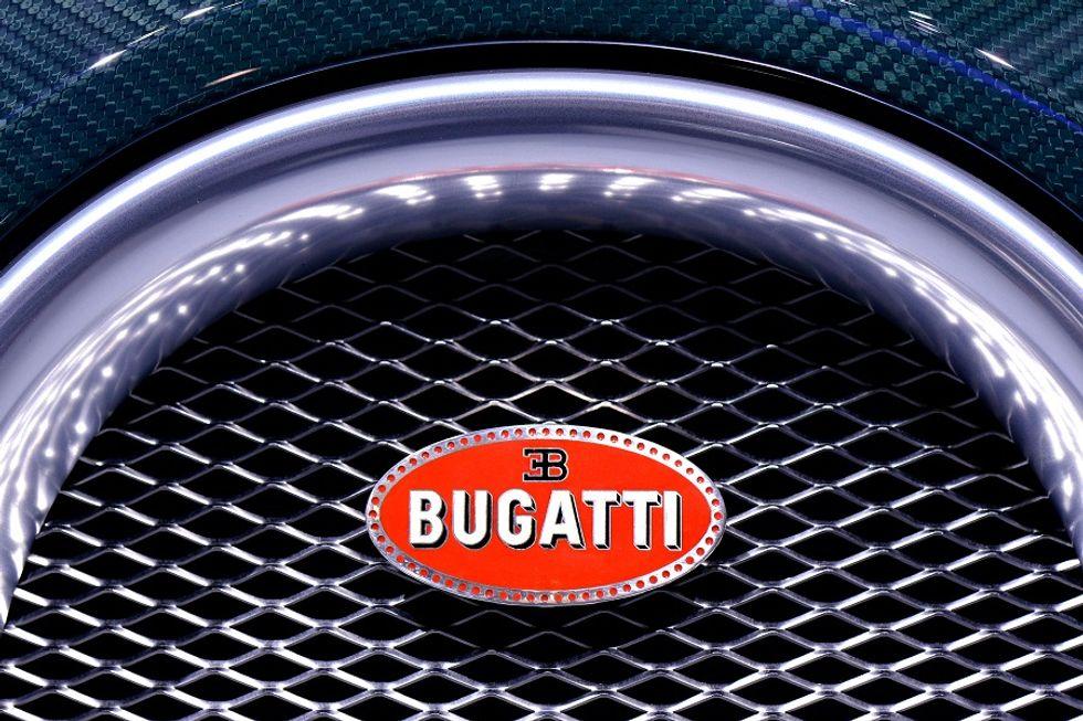 Bugatti unveils a new legendary car