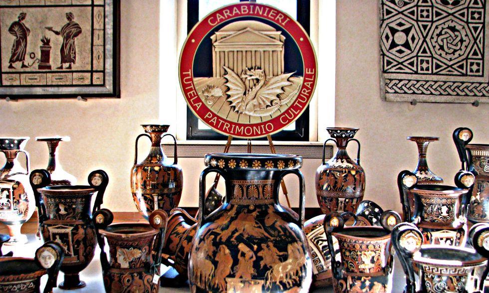 Operazione Teseo: il più grande recupero di beni archeologici della storia