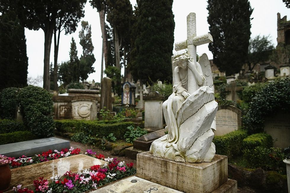 Italian non-Catholic cemeteries become attraction sites