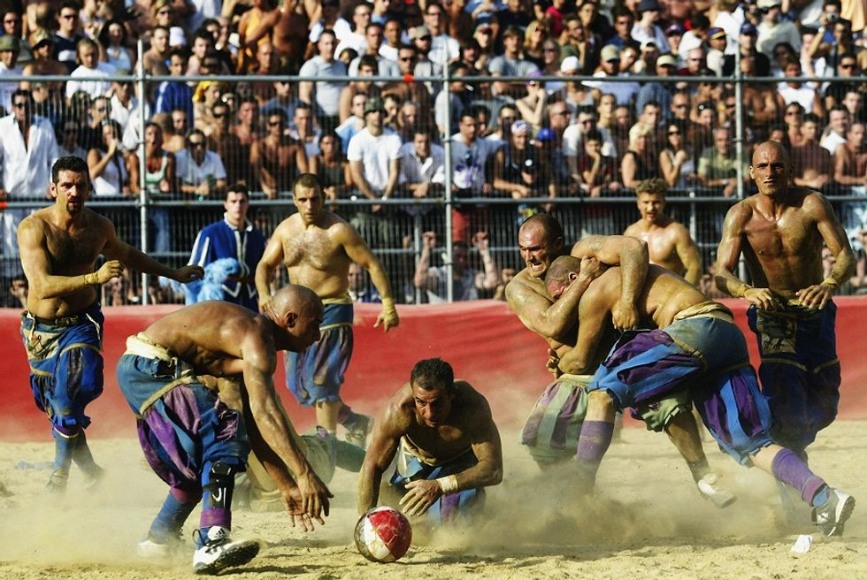 Discovering Italian soccer traditions