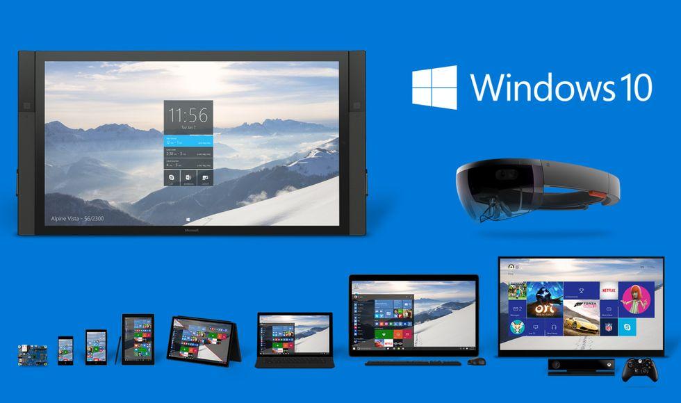 Microsoft: ecco Windows 10, Cortana, Spartan e HoloLens