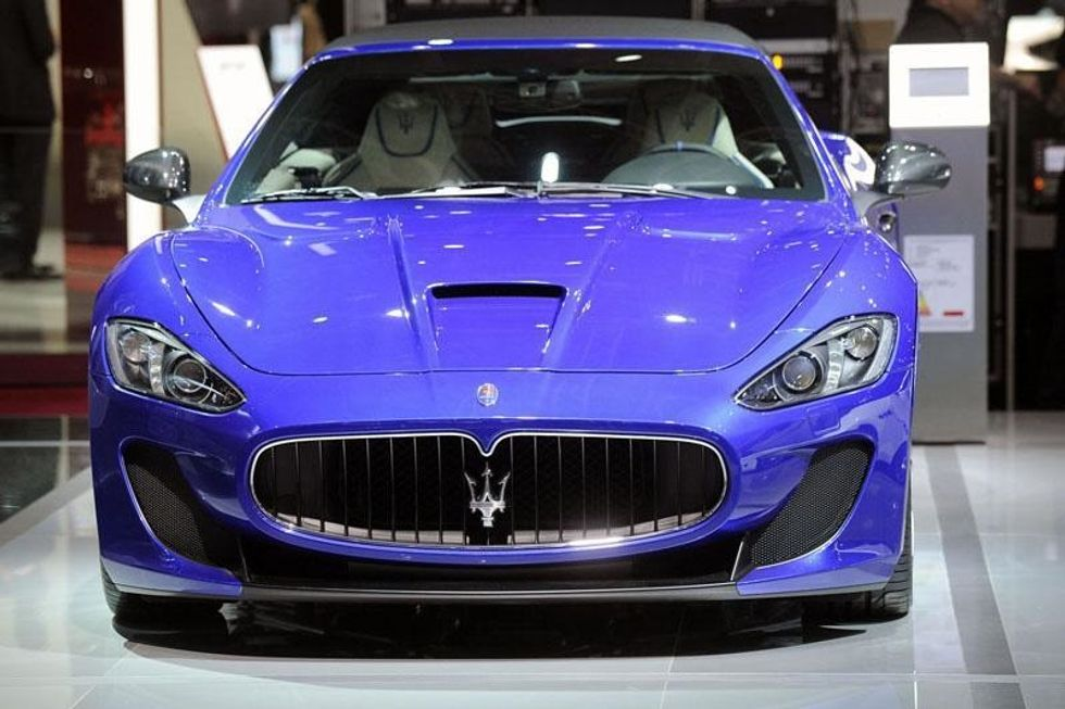100 birthdays of Maserati