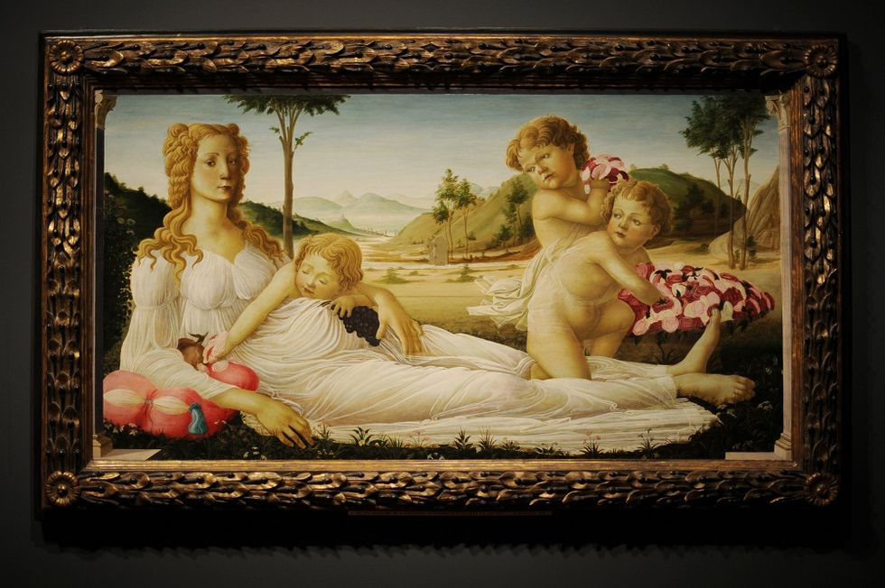 Botticelli's Pallas and the Centaur welcomed in Japan