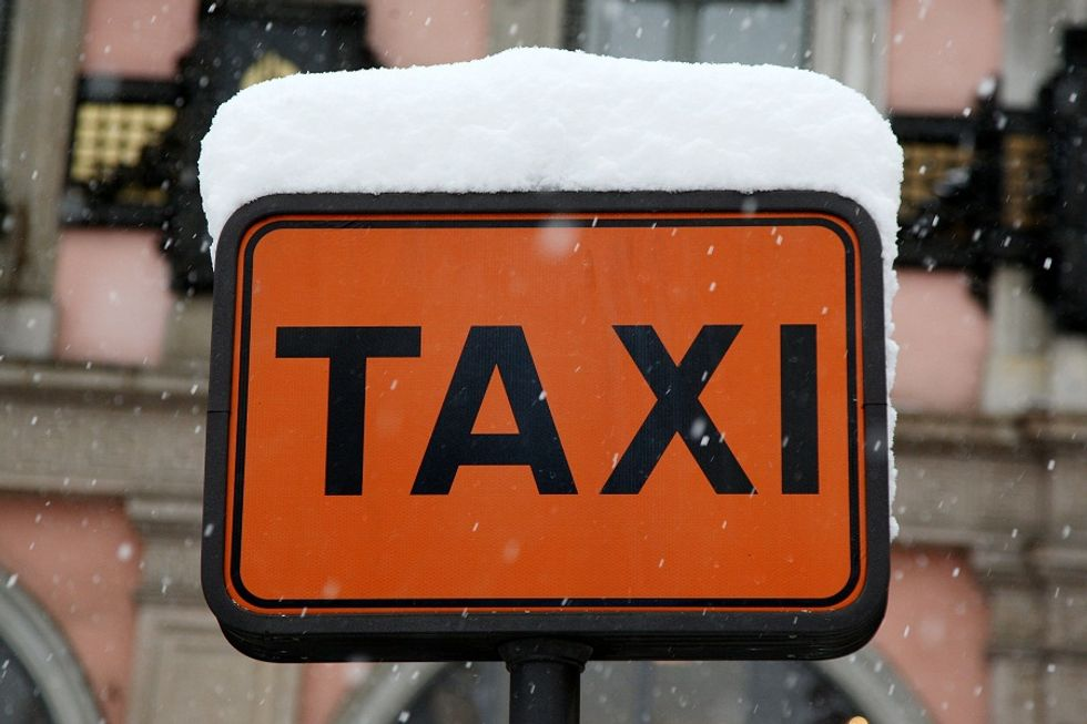 A new app to book a taxi in Italy