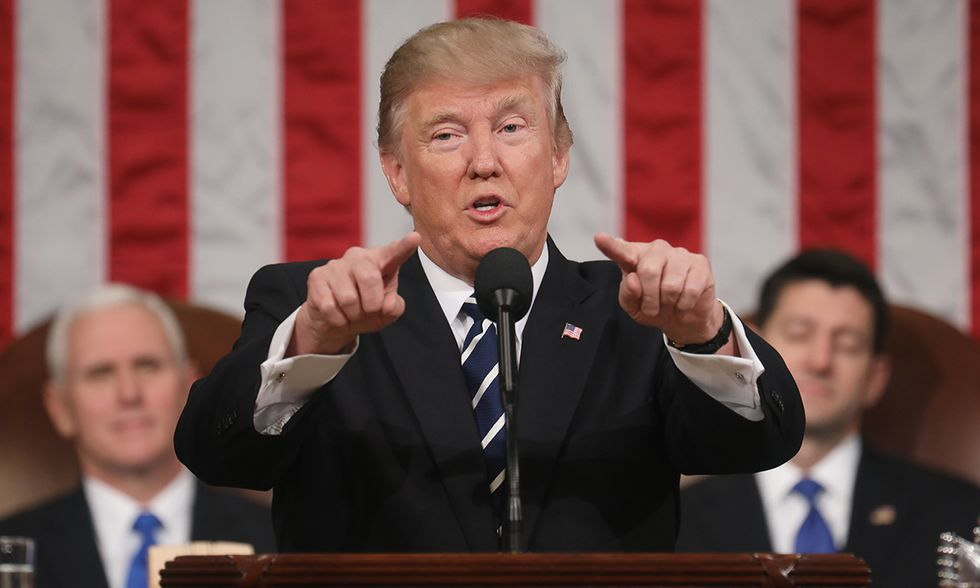 Donald Trump Primo discorso al Congresso