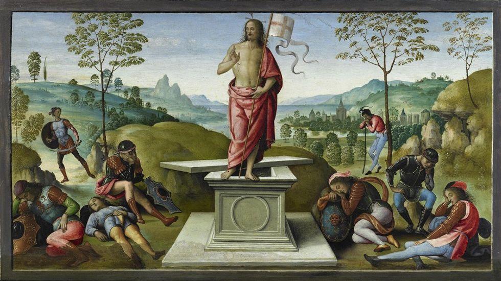 Italian Painter Pietro Vannucci, Known as Perugino, now in Paris