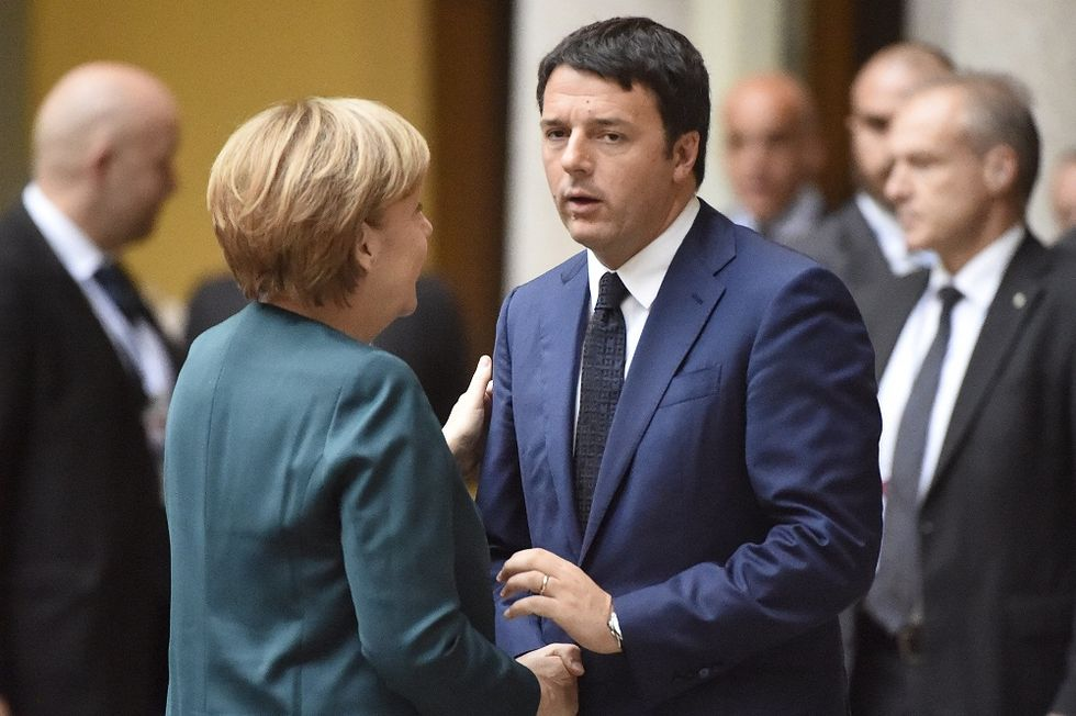 Frau Merkel says Italian and French Reforms are not Enough