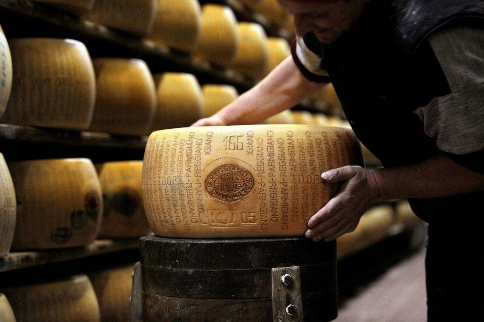 Parmigiano Reggiano is the king of Italian Food
