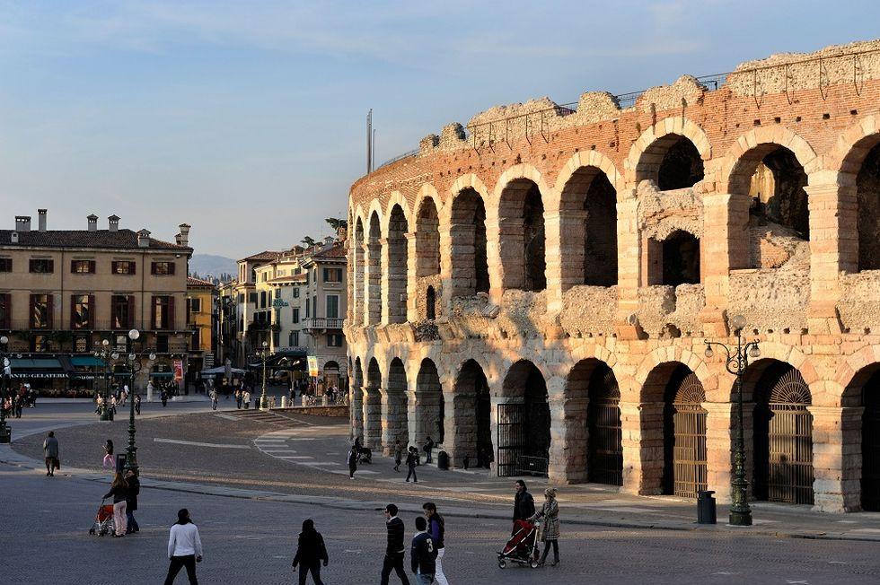 Ten selfies for Italy