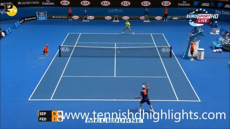 Australian Open - Seppi batte Federer: gli highlights