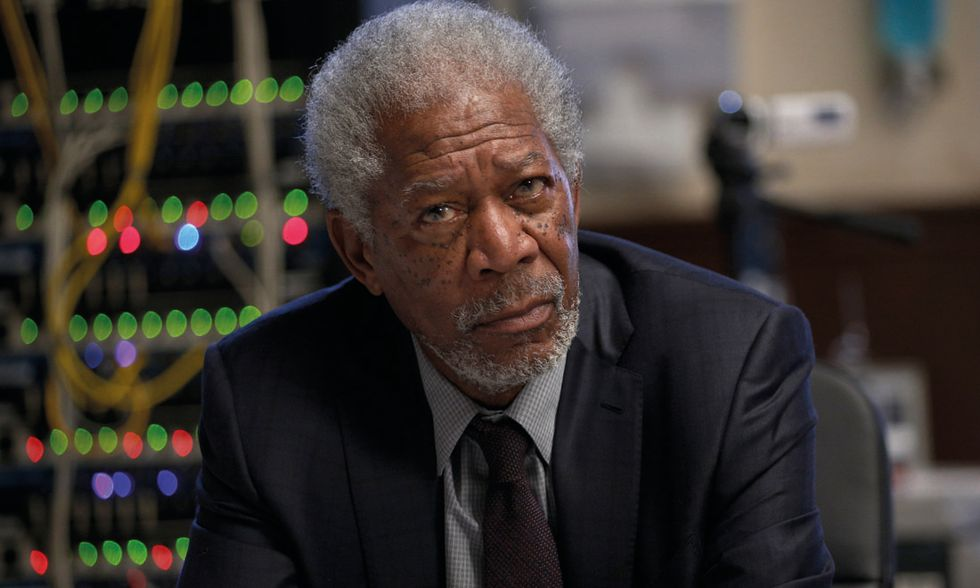"Morgan Freeman in ""Lucy"""