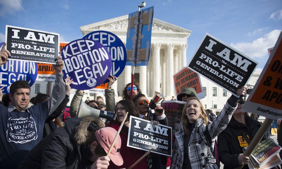 Aborto, pro life vs pro choice a Washington - Foto