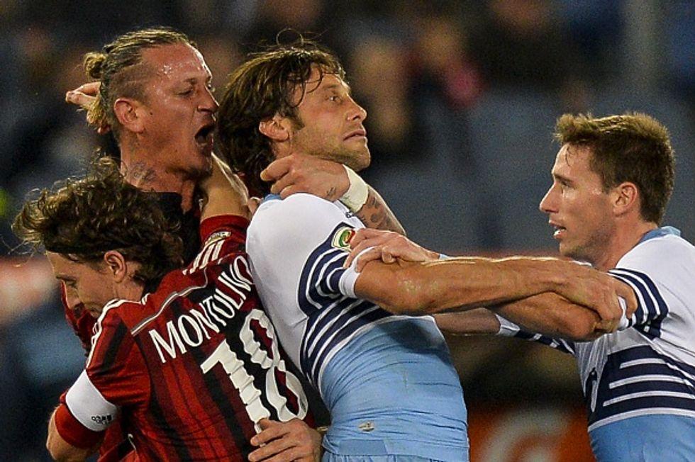 Lazio-Milan 3-1: la moviola in diretta