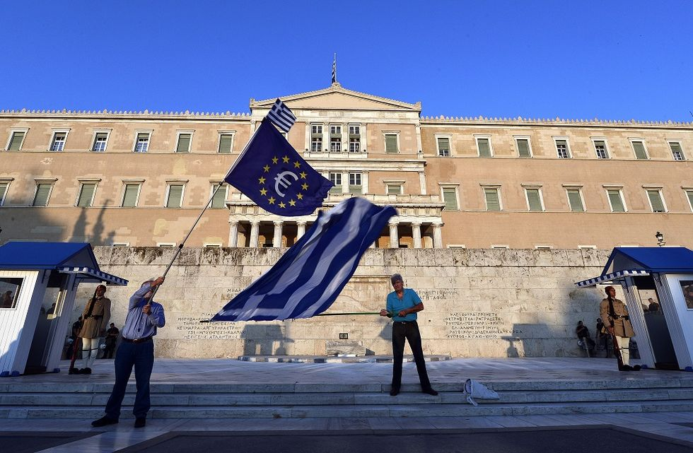 A positive and constructive way to look at the Greek Crisis