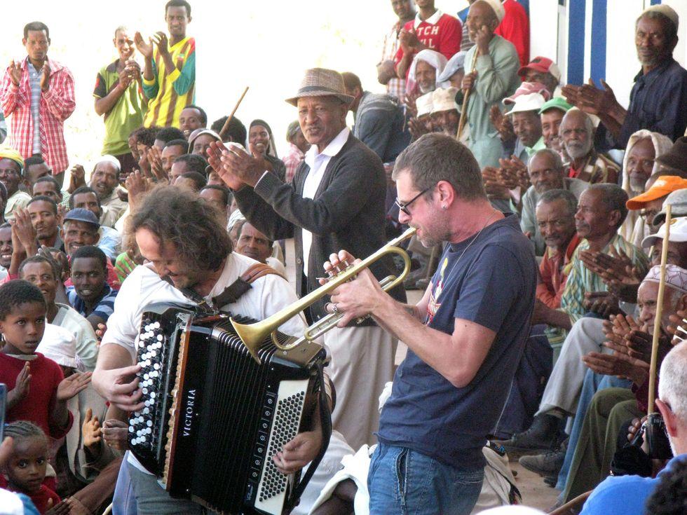 """Fabrizio Bosso: """"La mia musica per l'Etiopia"""" - Foto e video"""