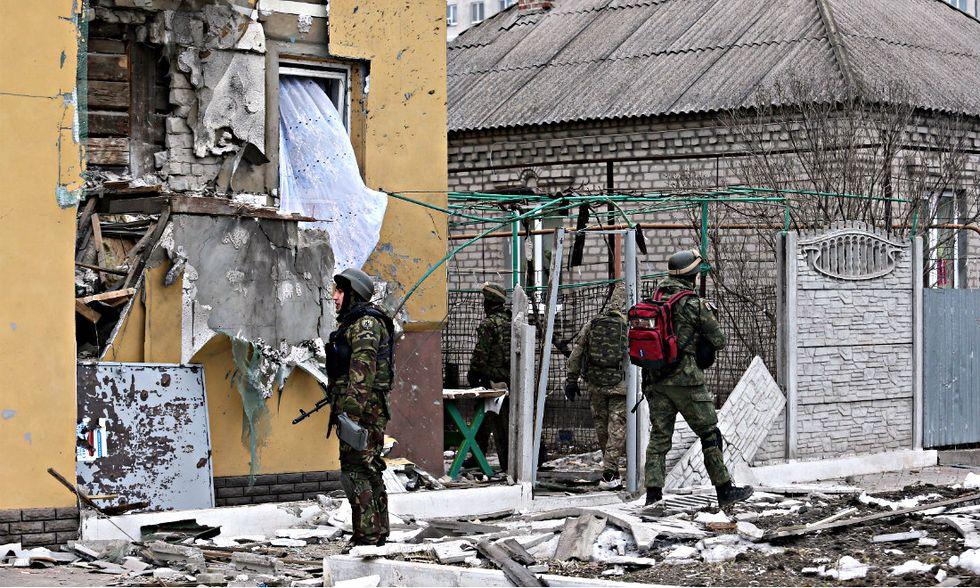 Ucraina, la strage nel mercato attaccato dai filorussi