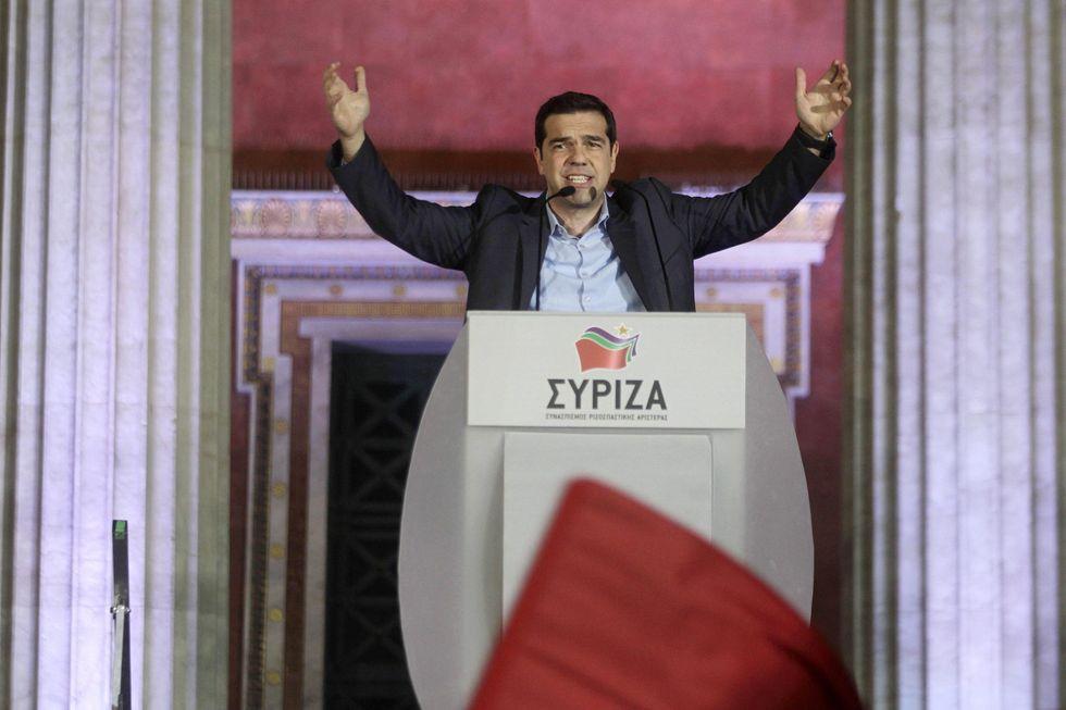 Alexis Tsipras trionfa in Grecia