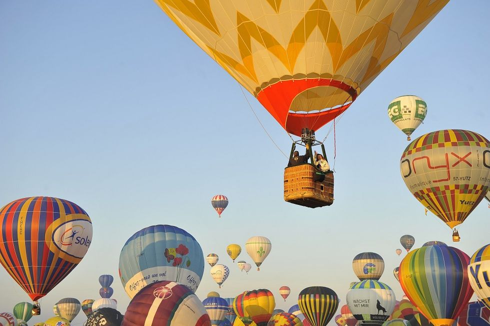 The Italian Balloons Festival