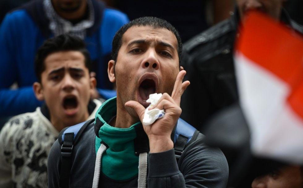 Scontri in Egitto: le immagini delle proteste