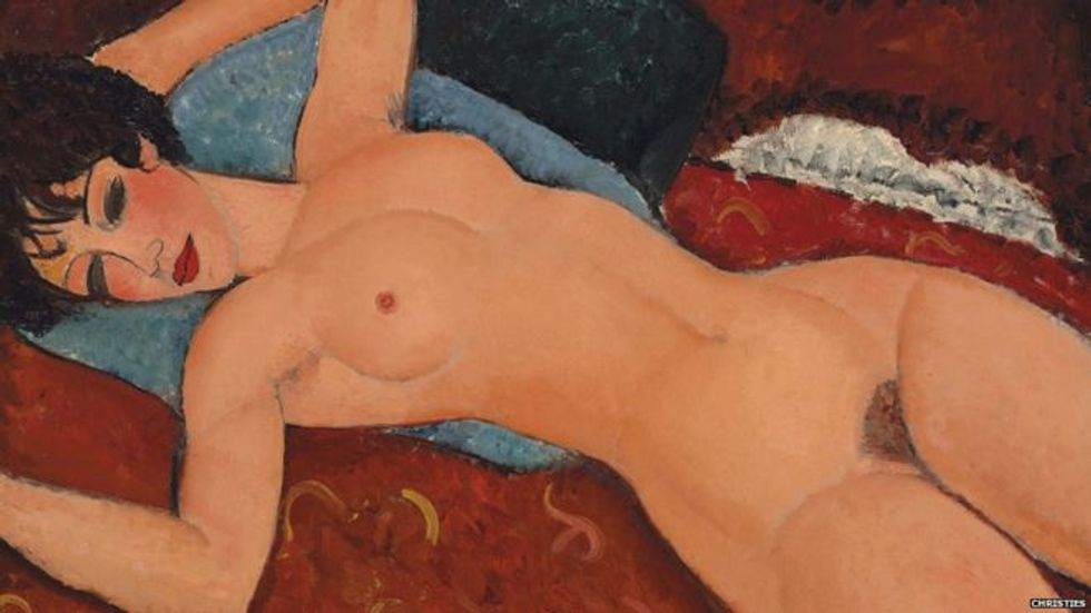 Amedeo Modigliani painting sold for  $170.4m