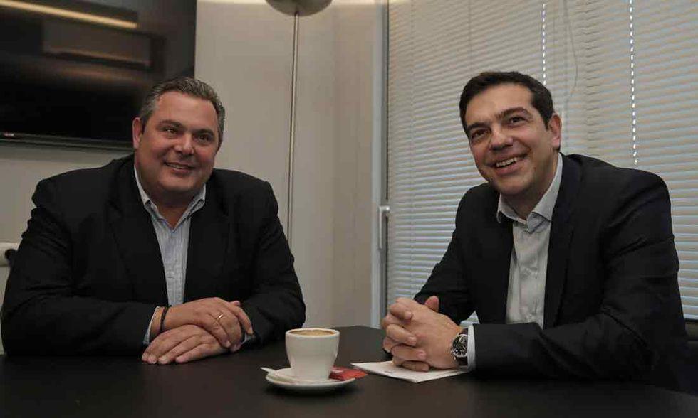 Ecco chi sono gli strani alleati di Tsipras