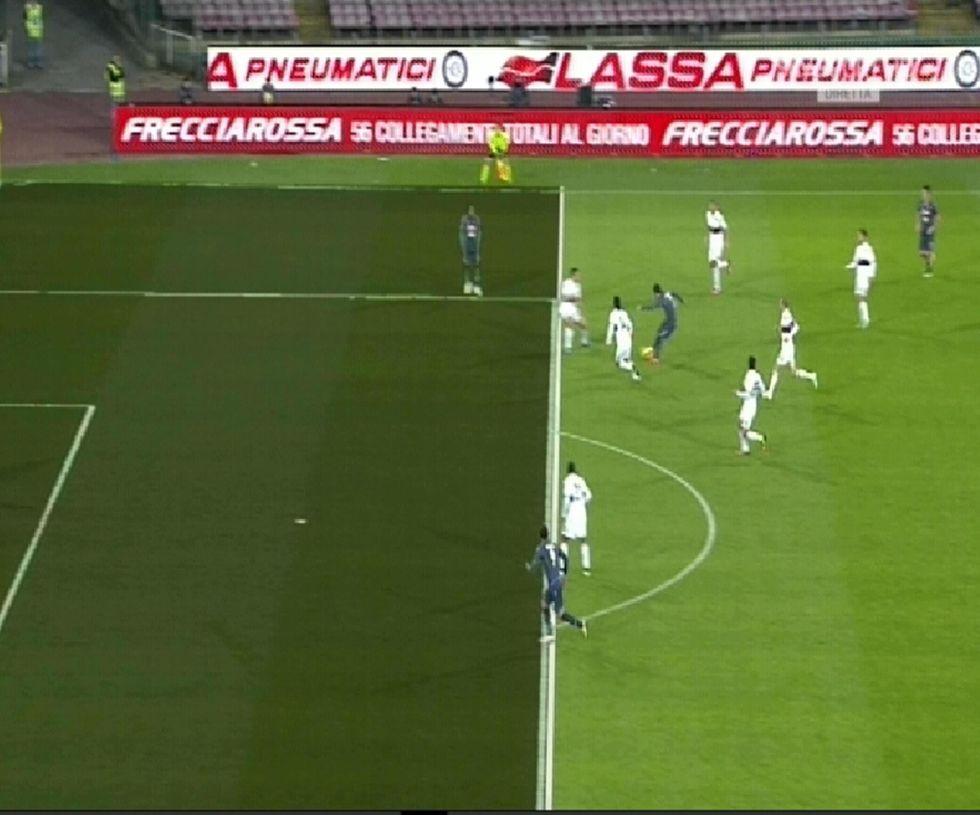 20° giornata - Palermo, gol fantasma. Aiutini al Napoli