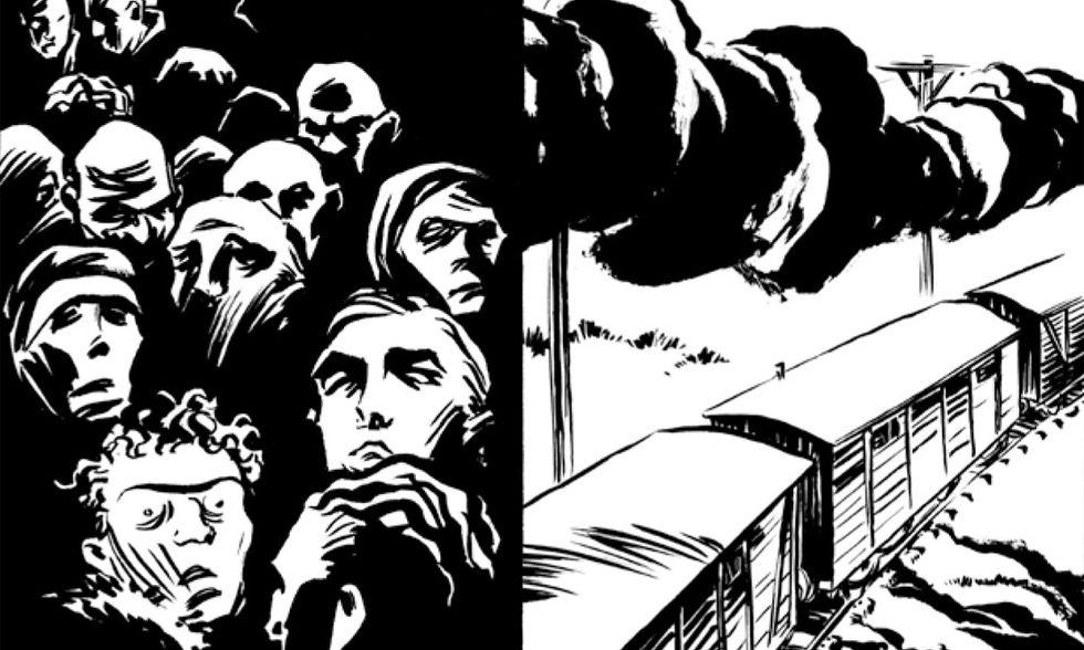 6 fumetti per il giorno della memoria