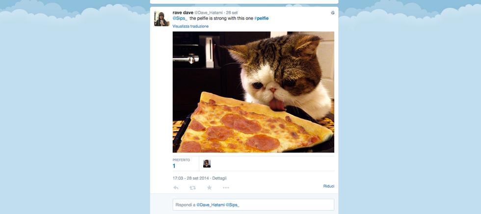#Pelfie: un hashtag per due