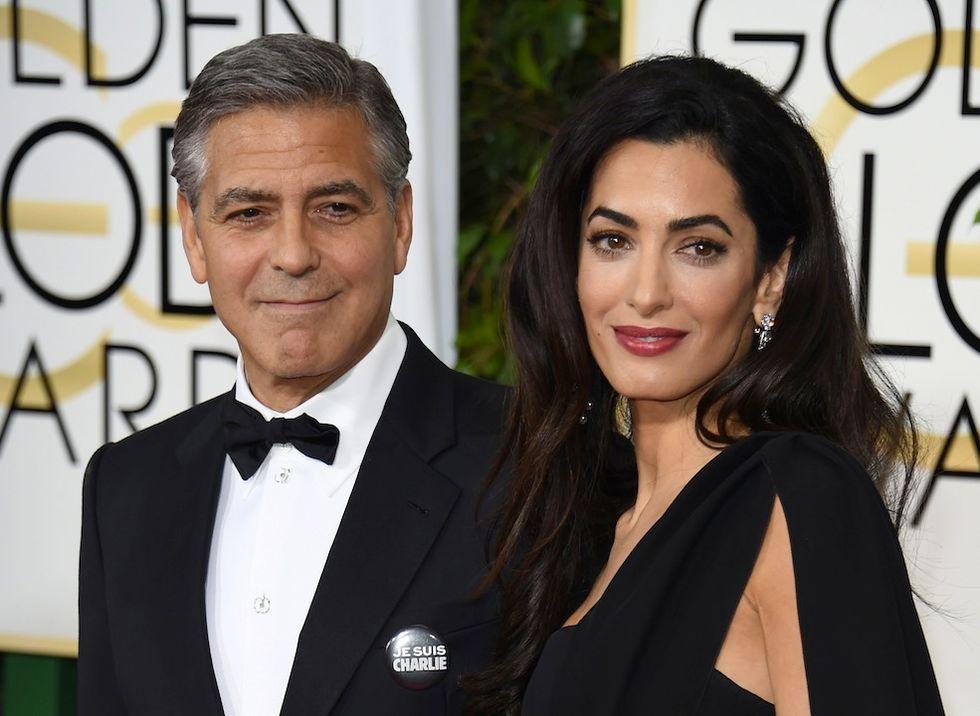 George Clooney è papà: nati i gemelli Ella e Alexander