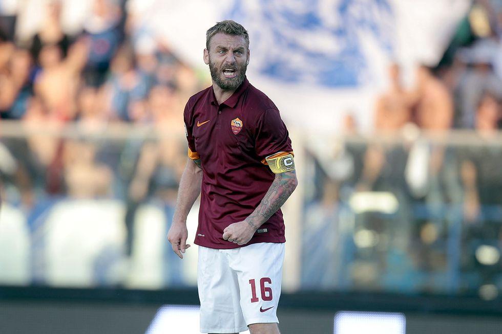 Roma: De Rossi fuori per 2-3 settimane