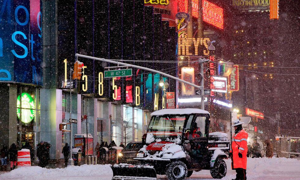 Neve a New York: quando il meteorologo sbaglia...