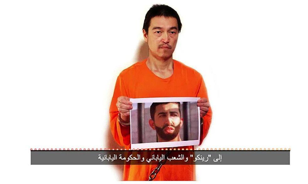 Isis, un nuovo messaggio dell'ostaggio giapponese
