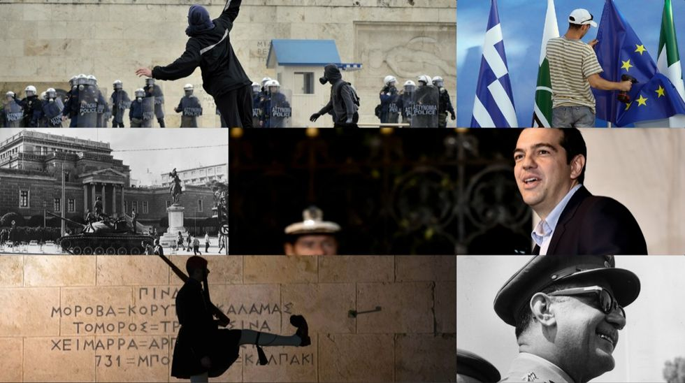 La Grecia, dalla guerra civile a Tsipras - Foto