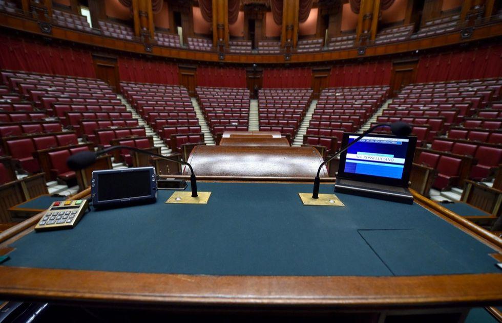 Quirinale, ecco l'aula di Montecitorio pronta al voto