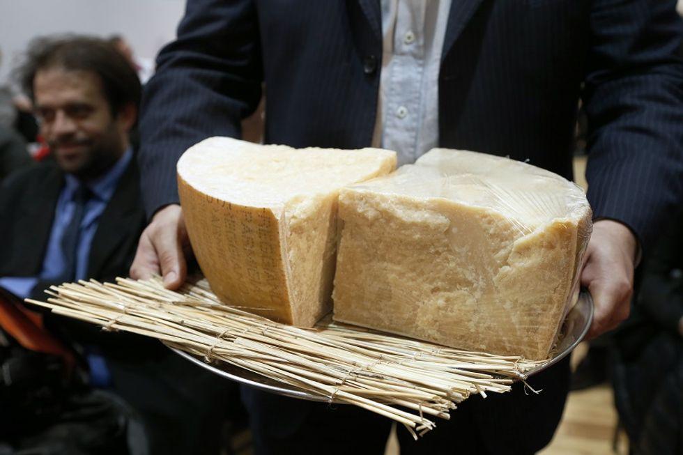 The international success of Parmigiano Reggiano