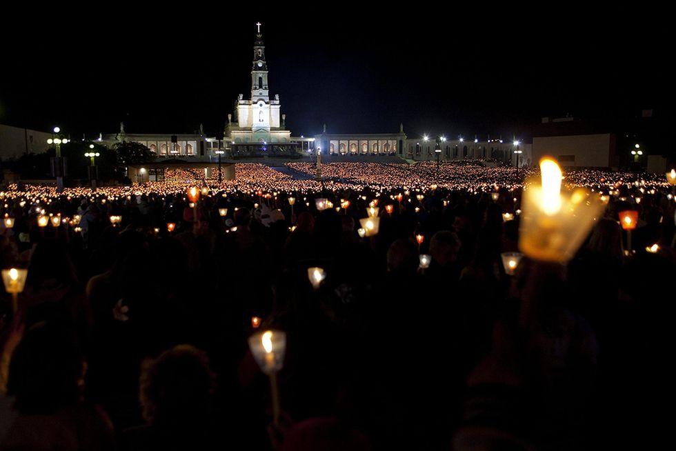 Pellegrinaggio al santuario di Fatima