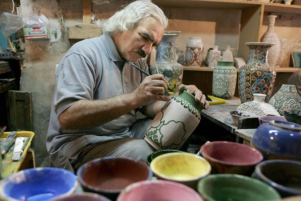 "Grottaglie, Italian ""town of pottery"""