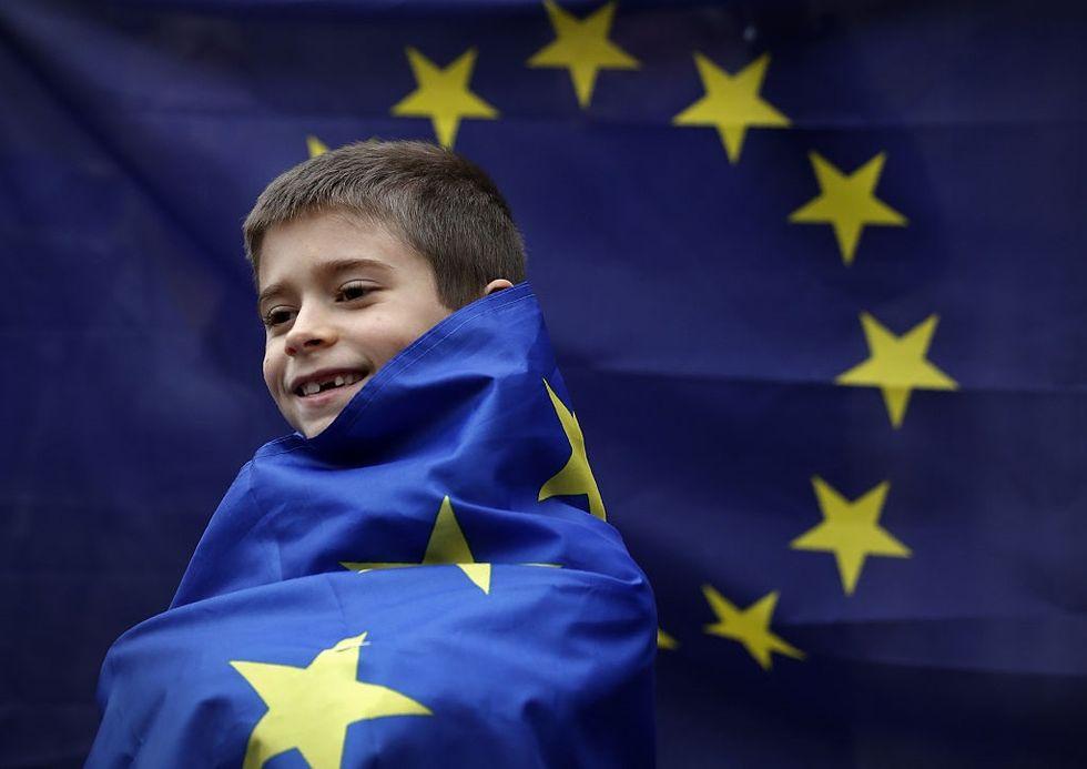 bandiera dell'Unione Europea