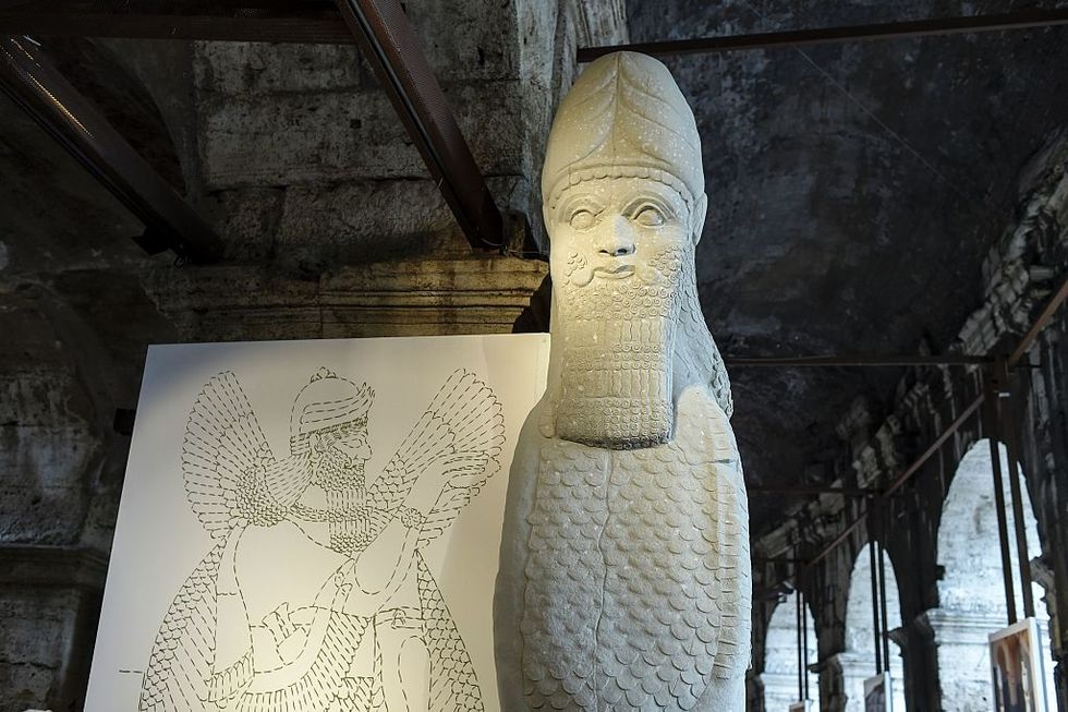A new Bull of Nimrud to be recreated in Rome
