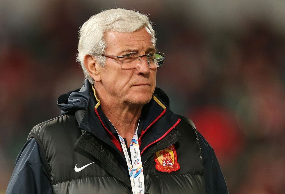 Marcello Lippi will train the Chinese national football club