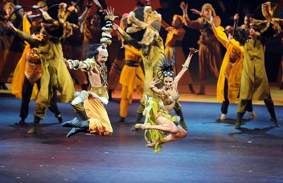 An Italian joins the Russian Ballet Bolshoi