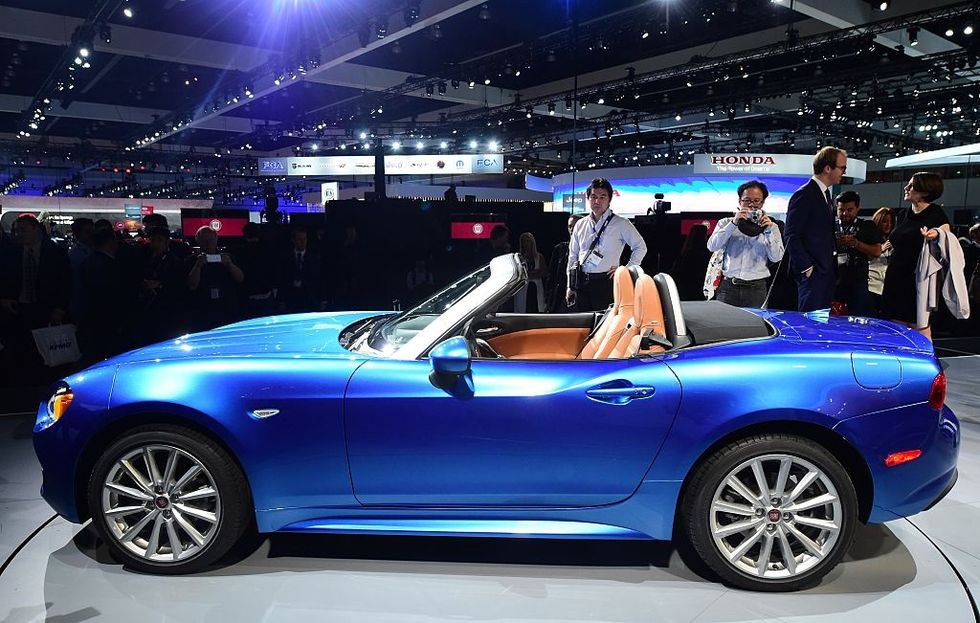 Why the US love Fiat 124 Spider