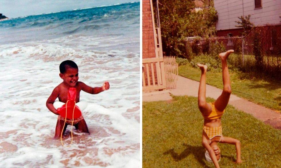 Barack e Michelle bambini, la campagna per Obamacare