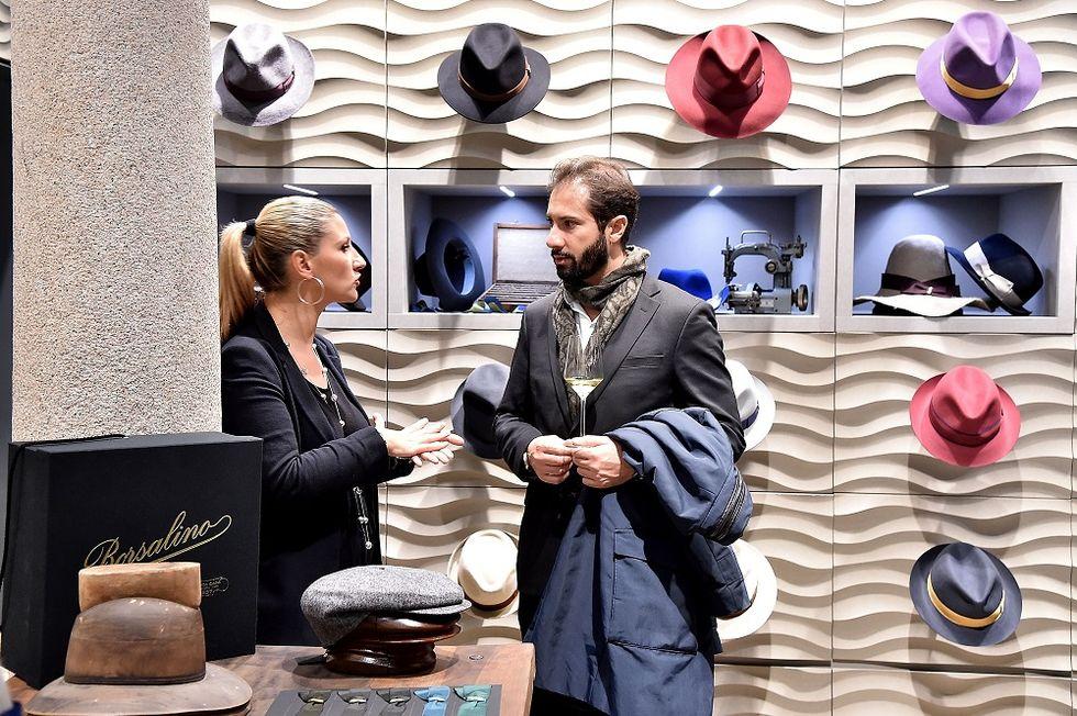 The magic touch of Borsalino's hats