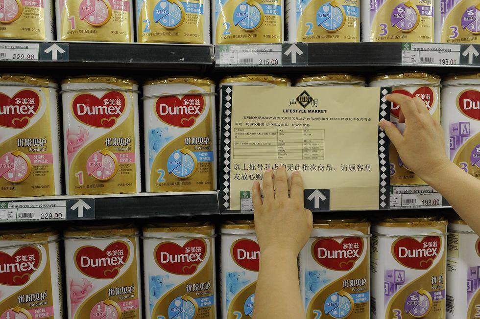 Why Chinese choose Italian milk