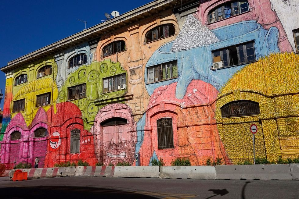 Italy welcomes street art and its power to re-qualify cities