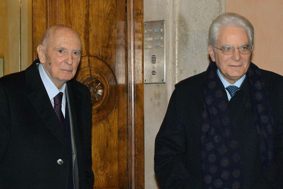 Sergio Mattarella: primi passi da Presidente
