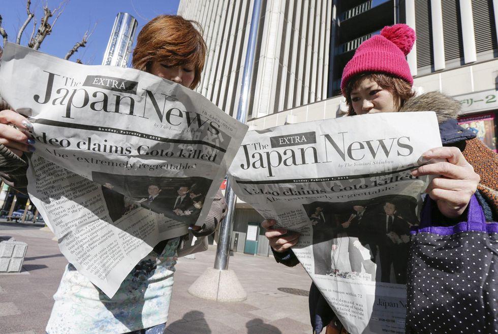 Giappone sotto shock per la decapitazione del reporter