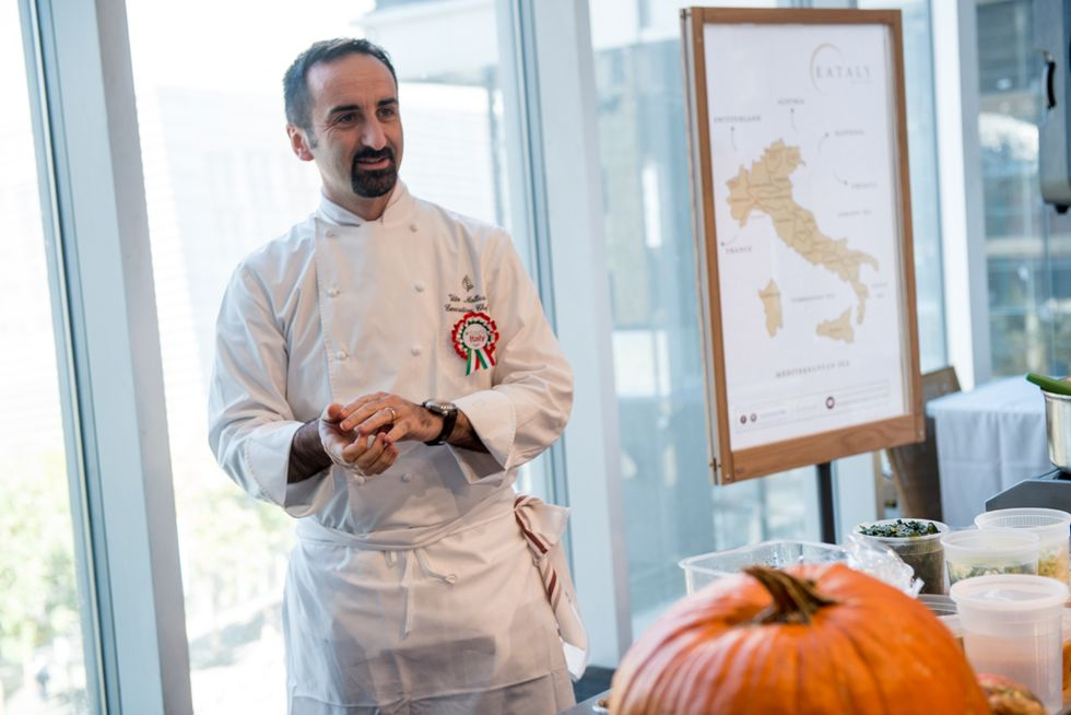 """The culinary art of Vito Mollica inaugurates """"This is Italy"""""""